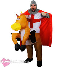 medieval halloween costume knight riding inflatable horse costume medieval fancy dress stag