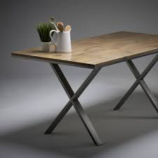 solid maple dining table solid maple dining table choice of steel leg designs by wicked