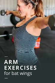 how to get rid of bat wings arm exercises bat wings bats and