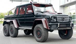 mercedes 6x6 truck meet the big truck on the block the mercedes g36 6x6