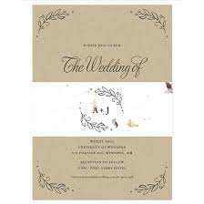 kraft paper wedding invitations seeds of kraft paper wedding invitations with seed paper band