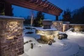will my led landscape lighting melt snow watson supply