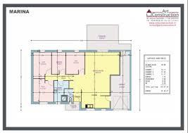 plan maison 3 chambre plain pied plan maison plain pied 3 chambres 1 bureau p 0002e lzzy co