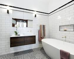 black and white tile bathroom ideas white and gold bathroom ideas houzz