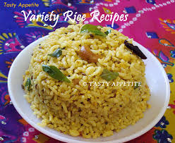 south indian variety rice recipes healthy lunch box recipes