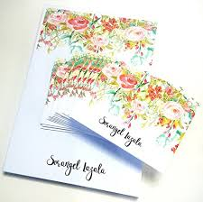 watercolor notecards watercolor personalized stationery set personalized