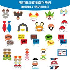 instant download pocket monster x y pokemon inspired printable