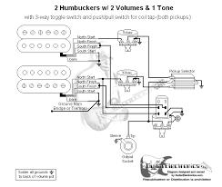 2 humbucker wiring diagram 2 wiring diagrams instruction