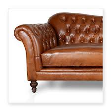 Leather Tufted Sofa Chesterfield Leather Sofa Bed Brown Scandlecandle Com