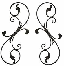 Iron Wrought Wall Decor Wonderfull Design Black Wrought Iron Wall Decor Captivating 38