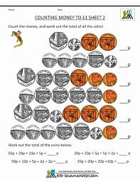 free money worksheets uk coins printable canadian math counting to