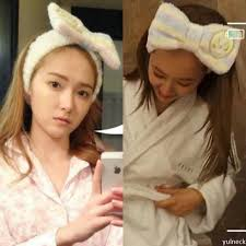 korean headband fuzzy bow headband korean jung jung hair