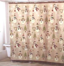 Snowman Shower Curtain Target Hearts Fabric Shower Curtains Ebay