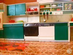jeux ole de cuisine de meuble de metier pour poupée en bois épicerie officine ée 50 60