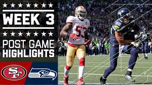 49ers vs seahawks nfl week 3 highlights