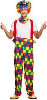 clown costume rainbow clown costume letter c costumes mega fancy dress