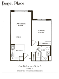 floors plans floor plans benet place senior apartments independent living