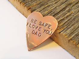 be safe law enforcement token from dad to child parents to