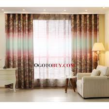 Country Style Curtains For Living Room by Colorful Primitive Poly Cotton Fabric Country Curtains For Living
