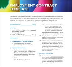 employment contract 9 download documents in pdf doc