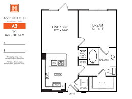 One Bedroom For Rent by Contemporary Highland Park One Bedroom Apartminty