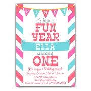 1st birthday invitations paperstyle