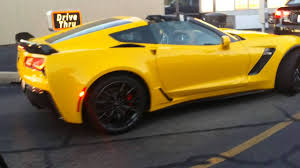 yellow corvette c7 c7 corvette z06 black yellow