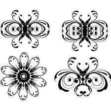 floral ornaments vector pack 2 vecteey