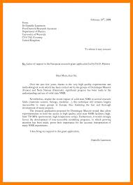 cover letter for grant application examples gallery letter