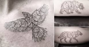 some fantastic fine line tattoo work out of l a by the incredibly
