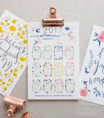 Modern Desk Calendar by Bonnie Christine 2017 Calendar Collection Going Home To Roost