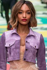 the chic medium haircuts for thick wavy hair bob hairstyles the best celebrity bobs to inspire your hairdo