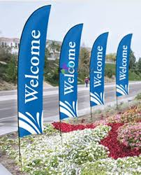2018 3 6m custom printing feather flags logo flag outdoor