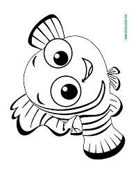 free printable clown fish coloring pages dessincoloriage