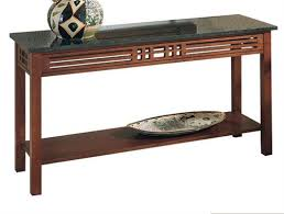 Stone Sofa Table Sofa Table With Granite Top 332 1 2 From Harden Furniture