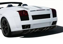 lamborghini gallardo rear aero function frp lamborghini gallardo af 1 wide rear bumper