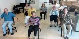 Chair Dancing Nae Nae Boricua Senior Citizens Chair Dance Like A Boss Video