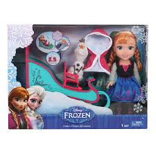 Disney Frozen Toddler Anna And Sleigh Toys R Us Australia