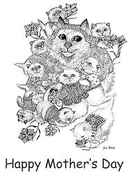 mother s day coloring sheet s day coloring page