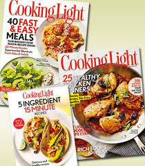 cooking light subscription status cooking light magazine two years for 16 plus get tablet edition