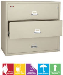 Fireproof Lateral File Cabinet Fireking 3 3122 C Fireproof Lateral File Cabinet Is Ul And