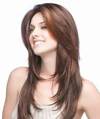 long hairstyles for round faces