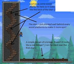 Platform Stairs Design 90 Best Terraria Base Inspiration Images On Pinterest Terraria