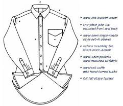 custom shirts information dress shirt details
