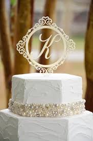 wedding cake toppers initials tbrb info