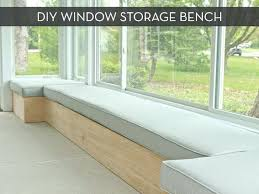 Bench Storage Seat Living Room Storage Bench Freem Co