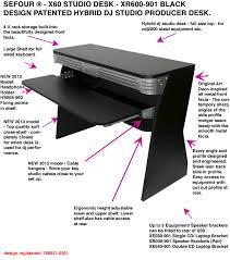 Dj Desk Sefour Dj Stands Pioneer Cdj 1000 Brackets