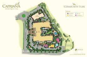 Site Floor Plan by Floor Plans U2013 Oakmont Of Capriana