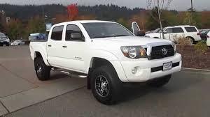 white toyota truck 2011 toyota tacoma white stock 15 2398a walk around youtube
