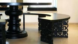 half table for kitchen half circle dining table appuesta me 12 bmorebiostat com